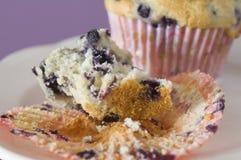 Blaubeere-Muffin Lizenzfreies Stockbild
