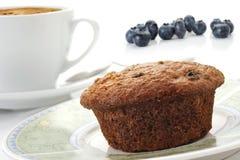 Blaubeere-Muffin lizenzfreies stockfoto