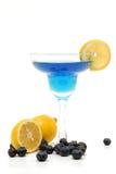 Blaubeerelimonadegetränk stockfoto