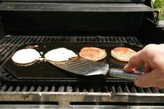 Blaubeerepfannkuchen zum Frühstück Lizenzfreie Stockfotos