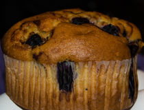 Blaubeermuffin Stockfotos