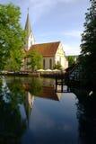 blaubeuren s conventual kościoła. Obrazy Royalty Free