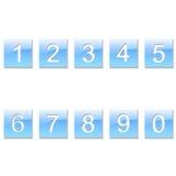 Blaue Abbildungen Lizenzfreie Stockbilder