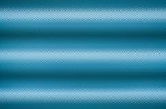 Blaue Abdeckung der Leuchtstofflampe Stockbild