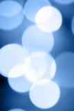 Blaue Ablichtung stockfotos