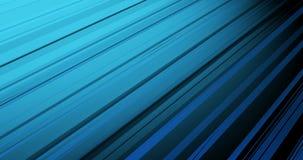 Blaue abstrakte Animation mit diagonalen Linien stock video footage
