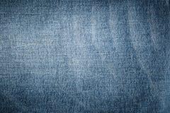 Blaue abstrakte Denimoberfläche für den Hintergrund Stockfoto