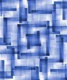 Blaue abstrakte Formen Stockfotos
