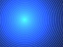 Blaue abstrakte Hintergrundringe Stockbild