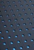 Blaue abstrakte Quadratauslegung Lizenzfreie Stockfotografie