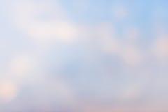 Blaue abstrakte undeutliche Hintergründe Lizenzfreies Stockbild
