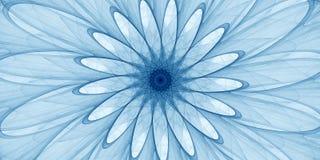 Blaue abstrakte Verzierung Stockfotos