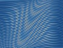 Blaue Abstraktion bewegt Hintergrundmuster wellenartig Stockbilder