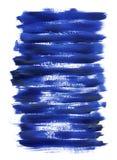 Blaue Acrylbeschaffenheit Lizenzfreies Stockbild