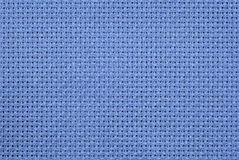 Blaue Aida Cloth Lizenzfreie Stockfotos