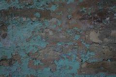 Blaue alte Backsteinmauer Lizenzfreies Stockbild