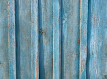 Blaue alte Gutshofhintergrundbeschaffenheit der hölzernen Bretter Lizenzfreie Stockfotografie
