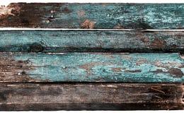blaue alte hölzerne Beschaffenheit Lizenzfreie Stockbilder