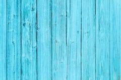 Blaue alte hölzerne Plankenbeschaffenheit Stockfoto