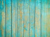 Blaue alte hölzerne Plankenbeschaffenheit Lizenzfreie Stockfotos