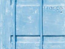 Blaue alte Wand Lizenzfreie Stockfotografie