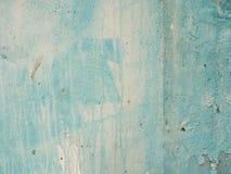 Blaue alte Zement-Wand im Hintergrund Stockbild