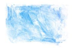 Blaue Anstrich-Beschaffenheit Stockbild