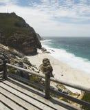 Blaue Atlantikküste, das Kap der Guten Hoffnung, Südafrika, Cape Town lizenzfreies stockfoto