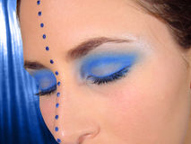 Blaue Augen stockfotos
