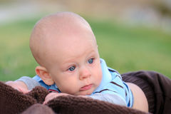 Blaue Augen-Junge Lizenzfreies Stockfoto