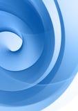Blaue Auslegung stockbild