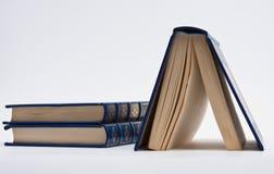 Blaue Bücher Lizenzfreie Stockbilder