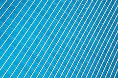 Blaue Bürofenster Lizenzfreie Stockfotografie