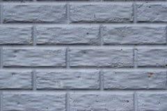 Blaue Backsteinmauerhintergrundbeschaffenheit stockfoto