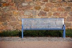 Blaue Bank Lizenzfreies Stockfoto