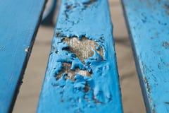 Blaue Bank-Platten-gebrochene Farbe Lizenzfreie Stockfotografie