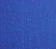 Blaue Baumwollbeschaffenheit Lizenzfreie Stockbilder