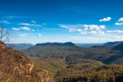 Blaue Berge Stockfoto