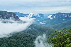 Blaue Berge in Australien Lizenzfreie Stockfotos