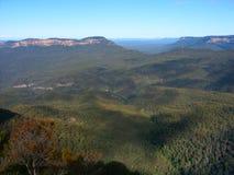 Blaue Berge - Australien stockbilder