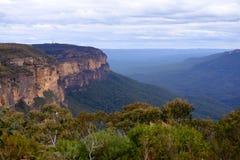 Blaue Berge in Australien Stockfotografie