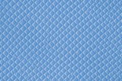 Blaue Beschaffenheit der blauen Waffel gemacht von den kleinen Diamanten vektor abbildung