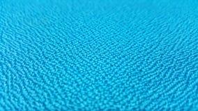 Blaue Beschaffenheit/nahe hohe blaue Gewebeoberfläche Lizenzfreie Stockfotos