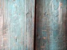 Blaue Beschaffenheitsfarbe der hölzernen Planke Lizenzfreies Stockfoto