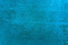 Blaue Betonmauerbeschaffenheit Lizenzfreie Stockfotos