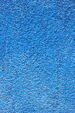 Blaue Betonmauerbeschaffenheit Lizenzfreie Stockbilder