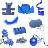 Blaue Bilder lizenzfreies stockbild