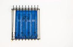 Blaue Blendenverschlüsse Lizenzfreies Stockbild
