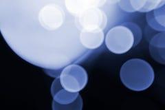 Blaue Blinklichter Stockfoto