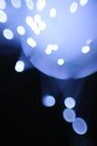 Blaue Blinklichter Stockbild